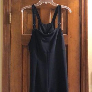 XLarge  Black overall jumpsuit